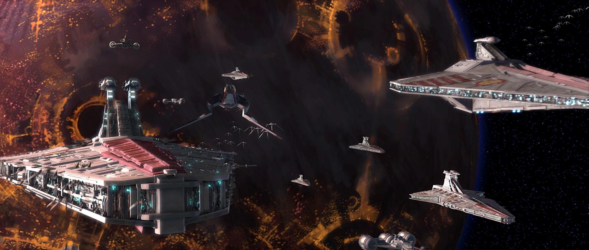 Star Wars Mandalorian Wars Republic Navy