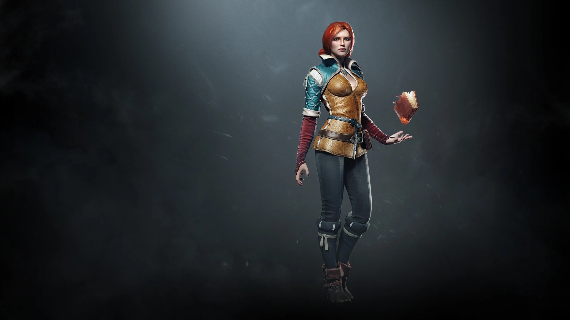The Witcher 3 Wild Hunt Triss Steam Trading Cards