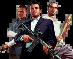 Michael, Franklin and Trevor | Super Smash Bros IV ...