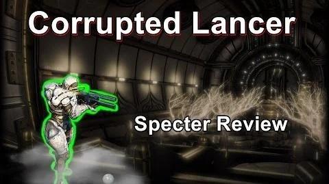 Video Corrupted Lancer Warframe Specter Review