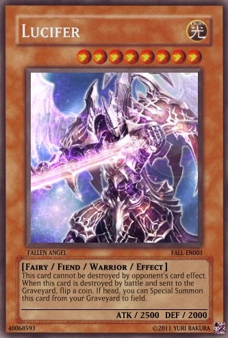 Lucifer Yu Gi Oh Fanon Wiki FANDOM Powered By Wikia