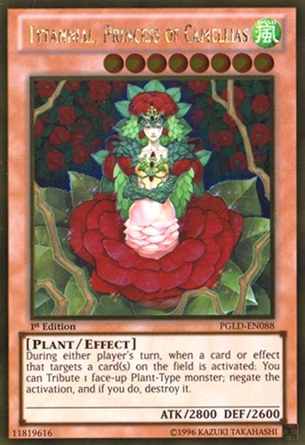Yu Oh Cards Gi Limited Edition Plants