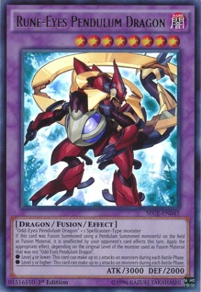 Rune-Eyes Pendulum Dragon