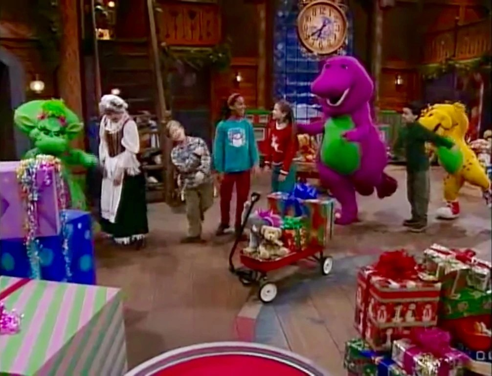 Barney Night Before Christmas