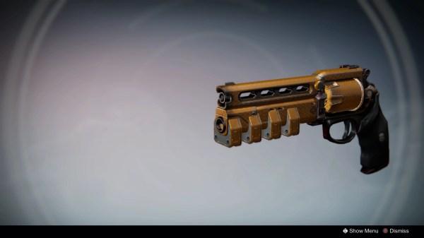 데스티니(게임)/무기/Hand Cannon - 우만위키
