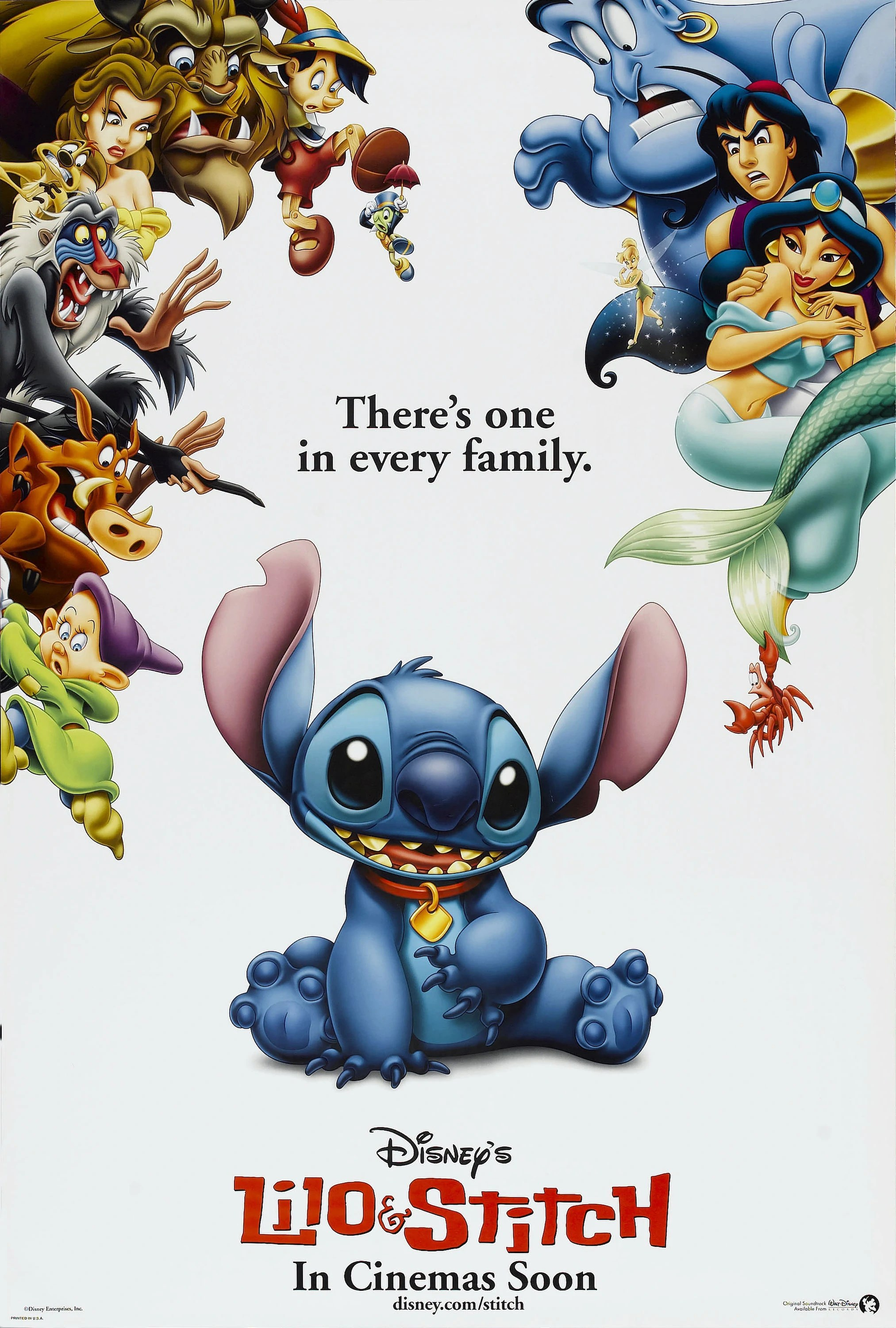 Poster do filme Lilo & Stitch