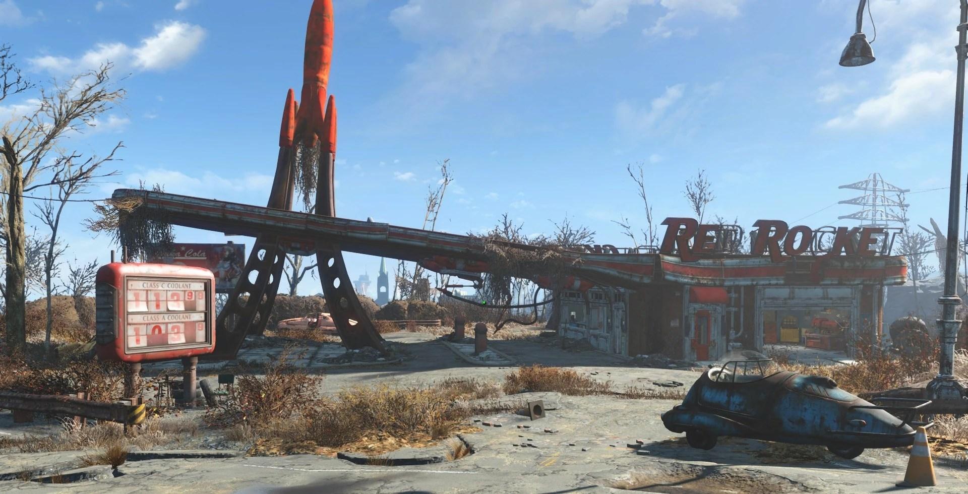 Red Rocket Truck Stop Fallout Wiki FANDOM Powered By Wikia