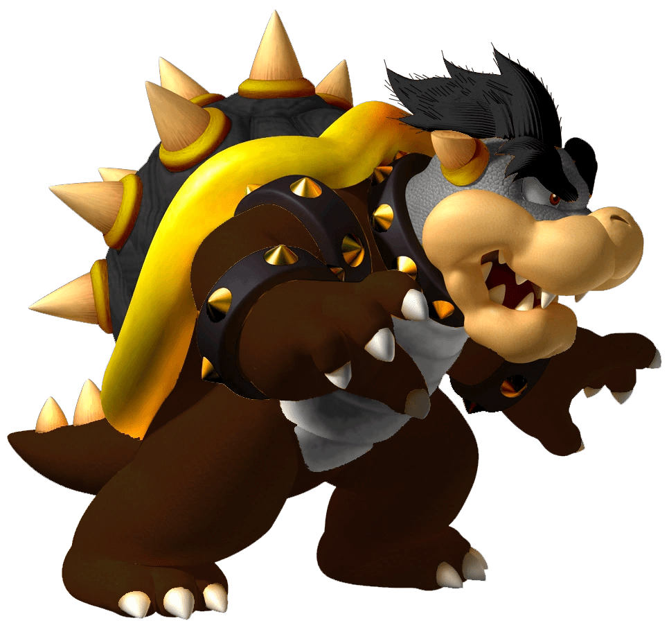 Mario Pages Coloring Bowser Dark
