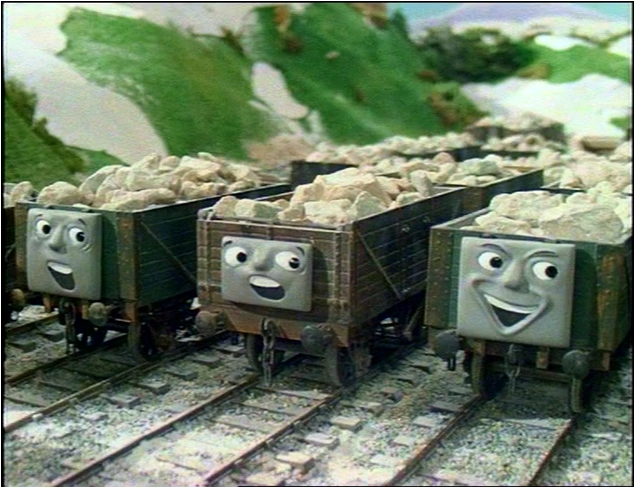 Thomas Haunted Henry Troublesome Trucks