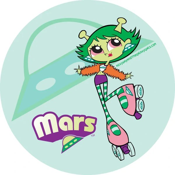 Mars | Milky Way and the Galaxy Girls Wiki | FANDOM ...