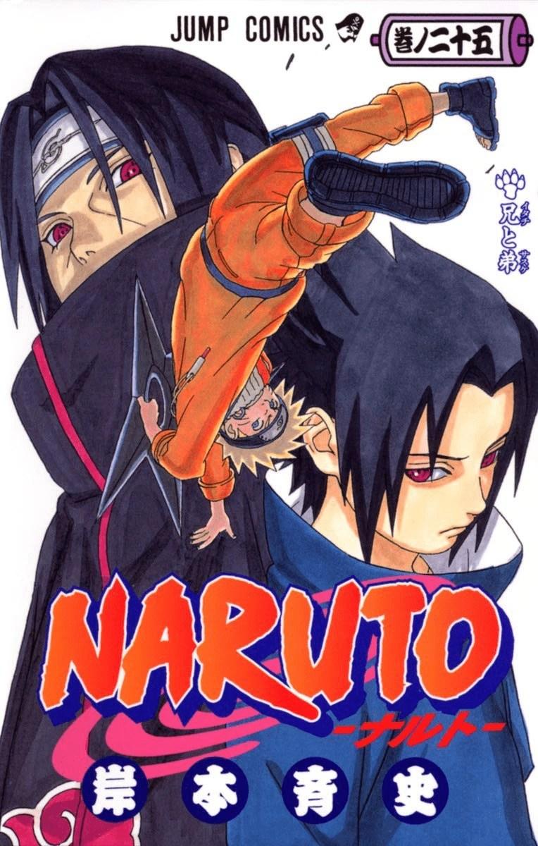 Itachi and Sasuke Brothers volume Narutopedia