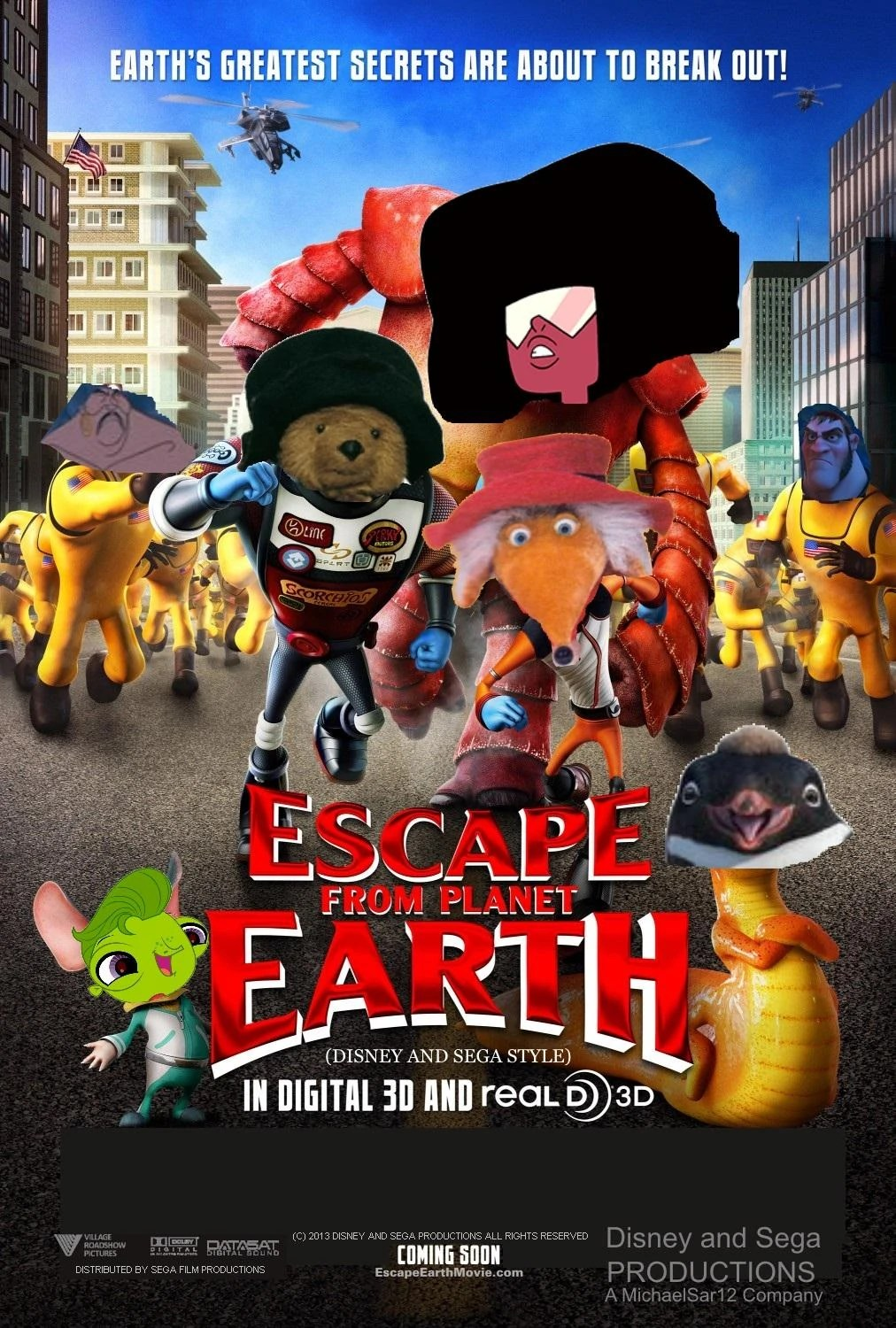 Escape from Planet Earth Disney and Sega Style The