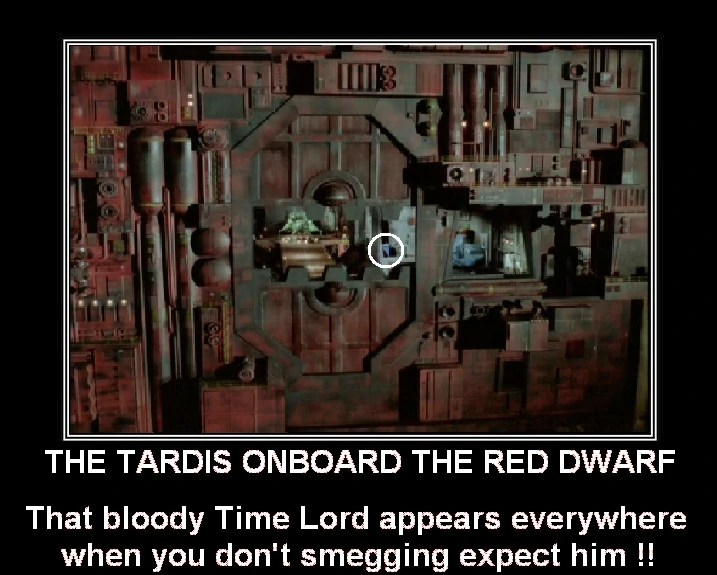 Image The tardis onboard the red dwarf by doctorwhoone