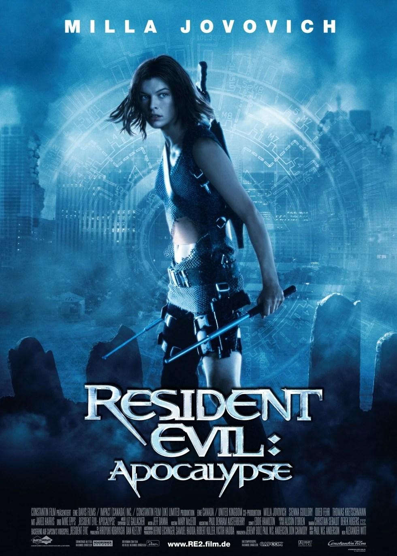 Poster do filme Resident Evil 2: Apocalipse