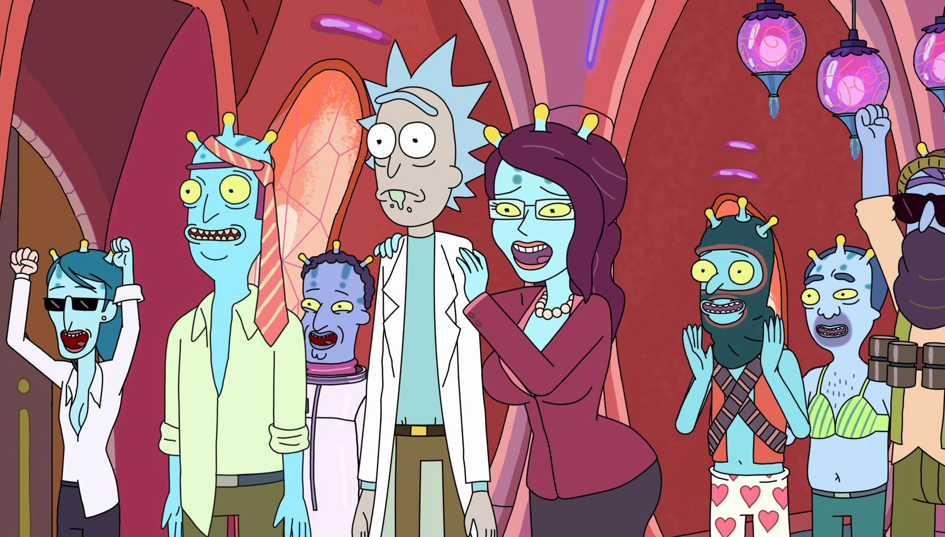 Auto Erotic Assimilation Rick And Morty Wiki FANDOM