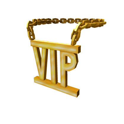 CatalogGolden VIP Necklace ROBLOX Wikia FANDOM