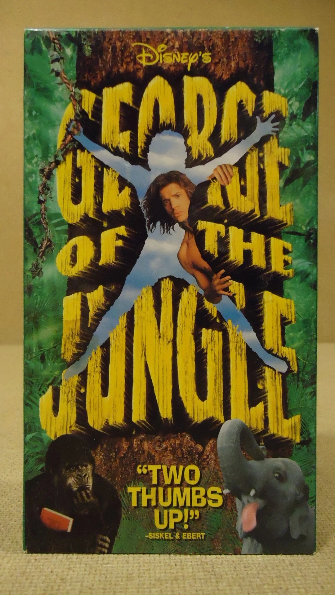Opening Jungle Book Vhs