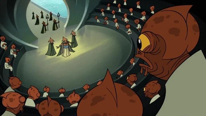 Mon Calamari Council Wookieepedia Fandom Powered By Wikia