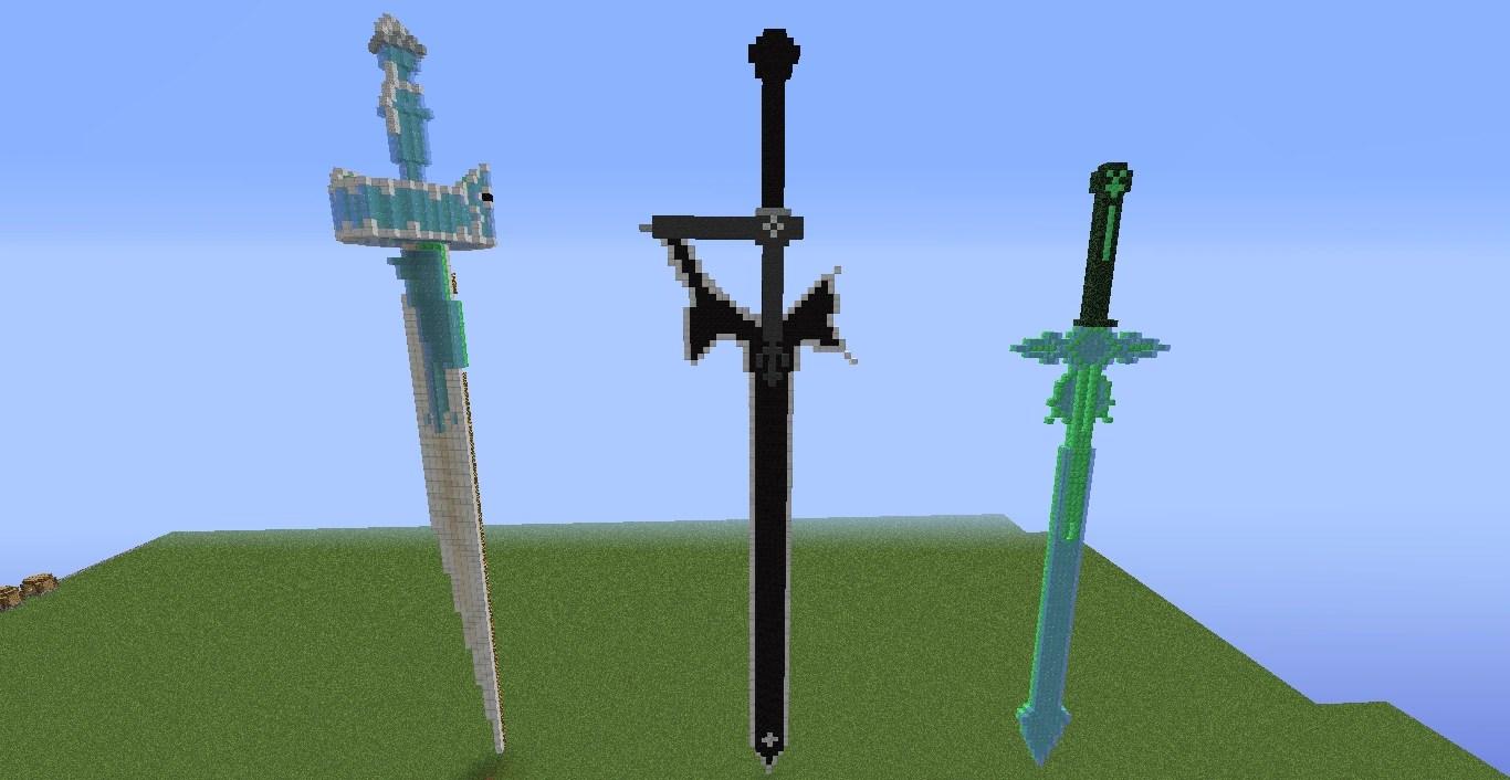 теперь статуя меча в майнкрафт сегодня многие