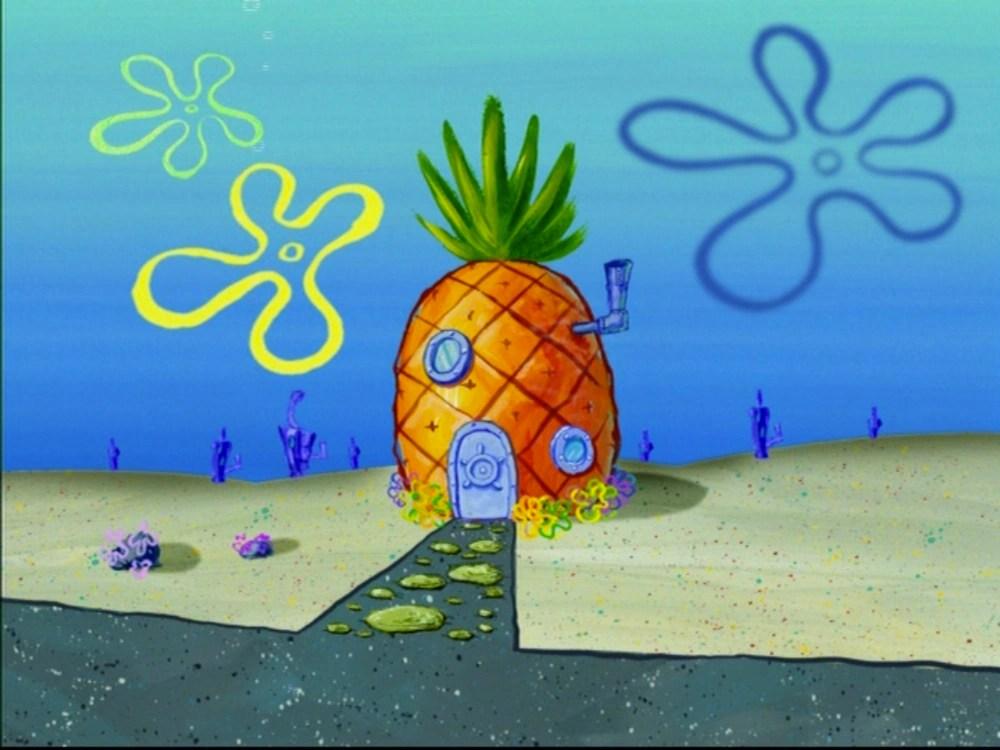 Patrick Star House Spongebob Two