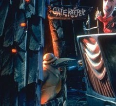 Gate Keeper The Nightmare Before Christmas Wiki FANDOM