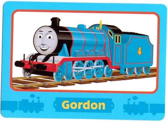 Image GordonTradingCardpng Thomas The Tank Engine