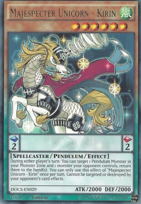 Majespecter Unicorn - Kirin