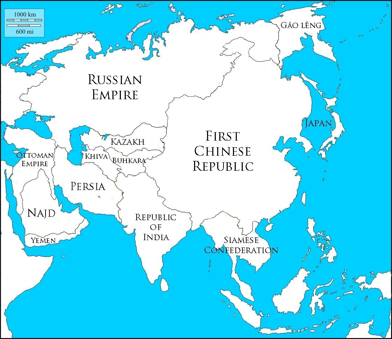 Alternate History Timelines