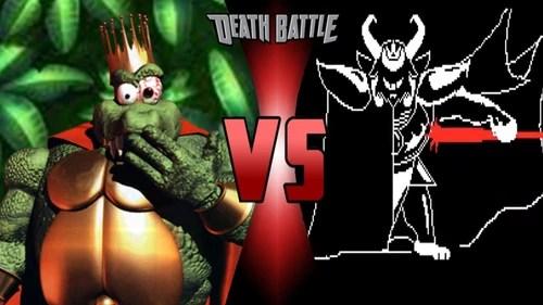 King K Rool vs Asgore Dreemurr Death Battle Fanon Wiki