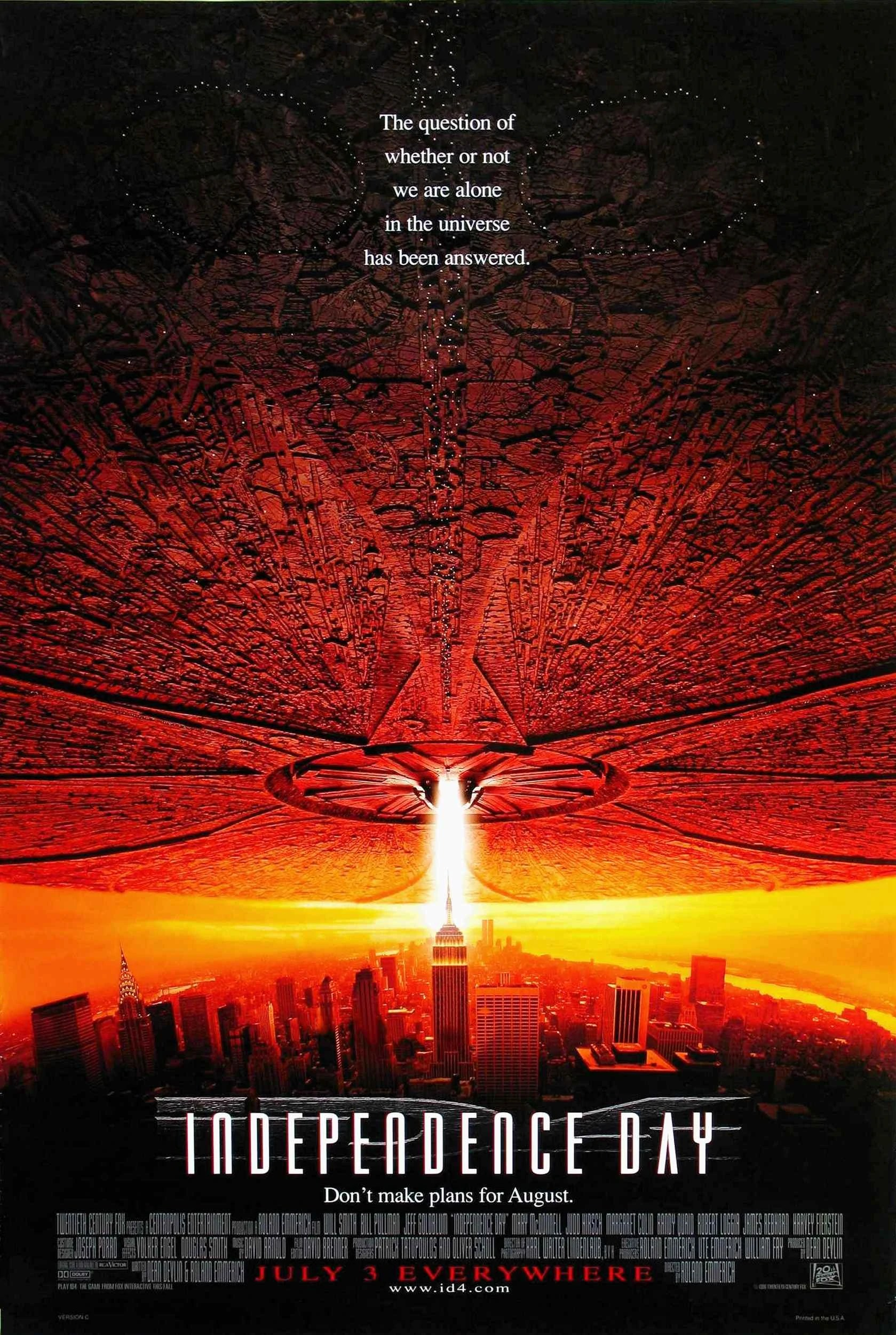 Poster do filme Independence Day