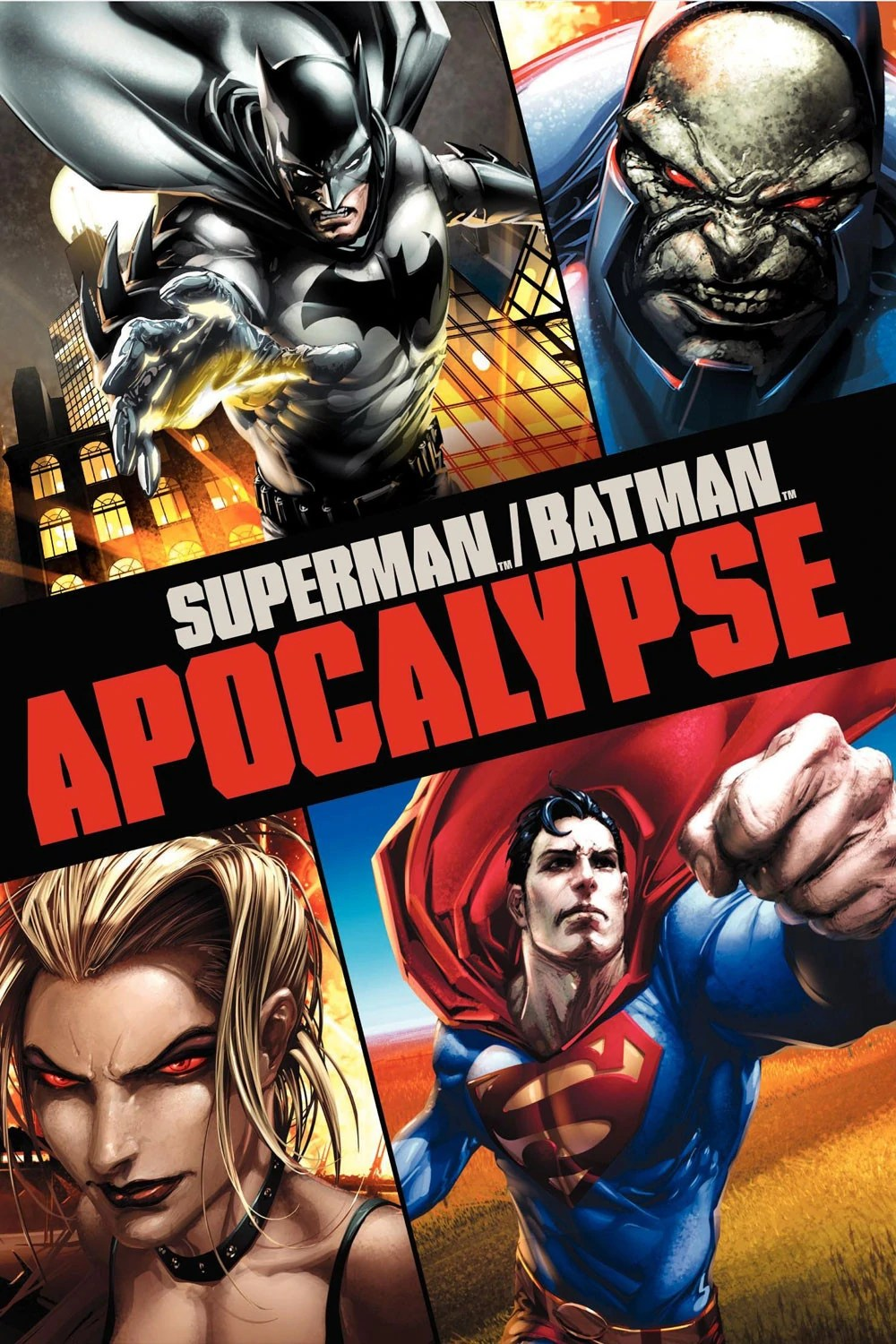 Poster do filme Superman & Batman: Apocalipse