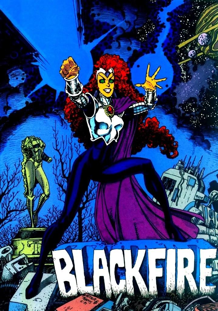 Blackfire | DC Database | Fandom powered by Wikia
