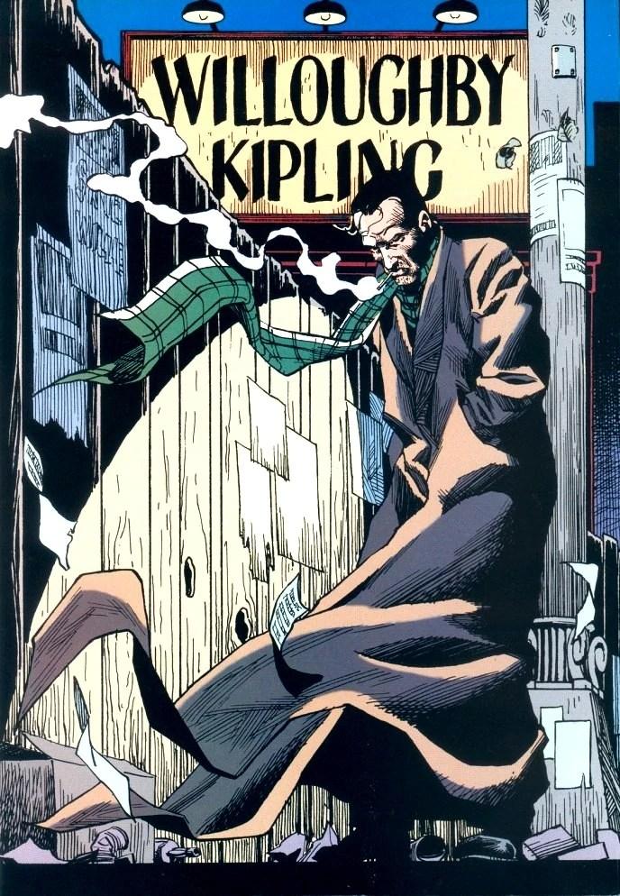Willoughby Kipling New Earth DC Database FANDOM