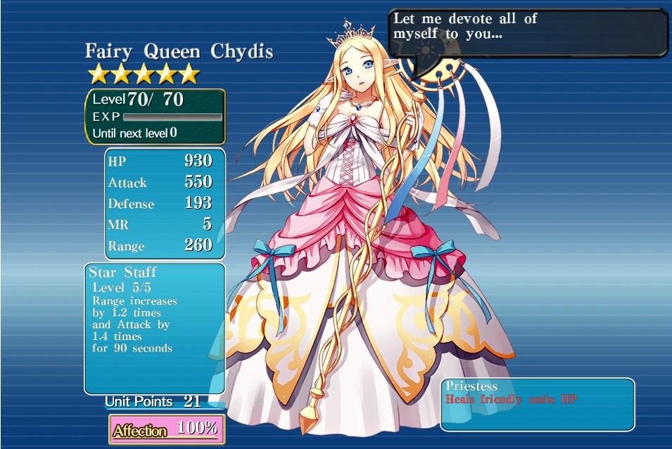 Chydis | Millennium War Aigis Wiki | FANDOM powered by Wikia