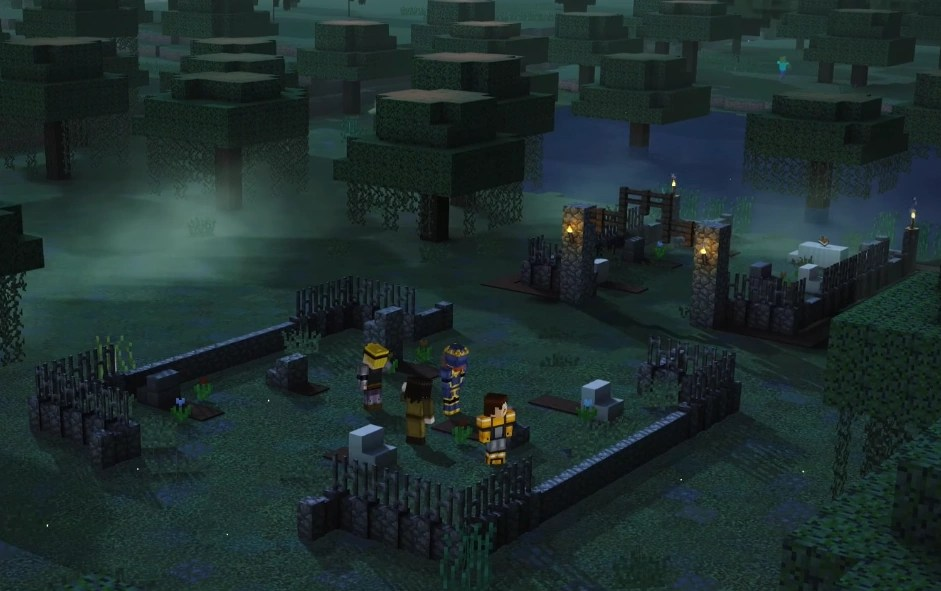 Graveyard Minecraft Story Mode Wiki FANDOM Powered By