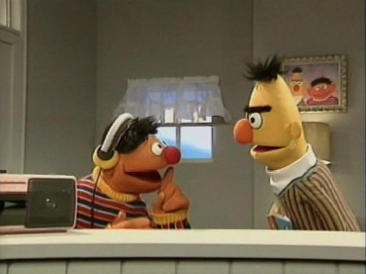 Sesame Ernie Angry Bert Street
