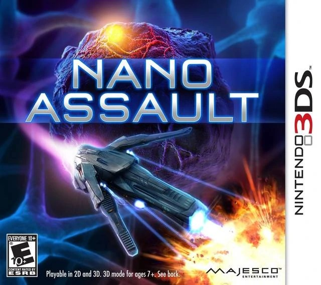 Nano Assault Nintendo 3DS Wiki FANDOM Powered By Wikia