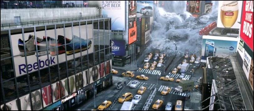 Image - The flooding of New York City replica.JPG ...