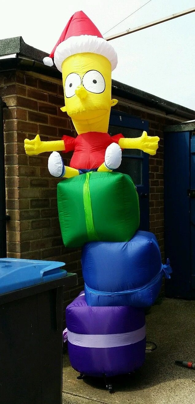 Christmas Simpsons Decoration Inflatable