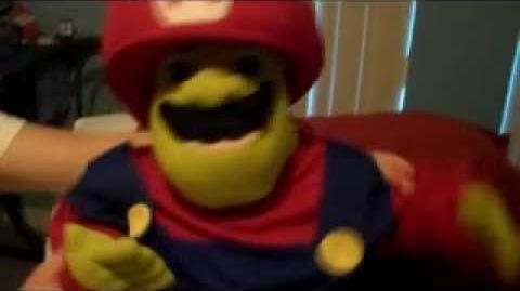 Video SML Movie Shreks Costume SuperMarioLogan