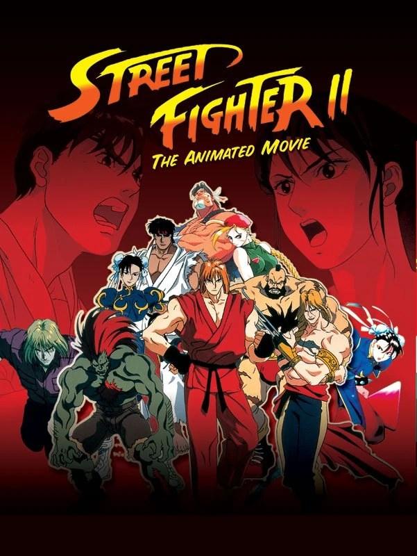 Poster do filme Street Fighter II: O Filme