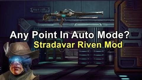 Video Stradavar Riven Mod Best Of Both Worlds WARFRAME
