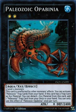 Paleozoic Opabinia YuGiOh FANDOM powered by Wikia