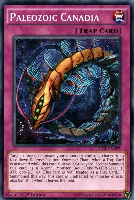 Paleozoic Summon effects in the TCG now mandatory yugioh