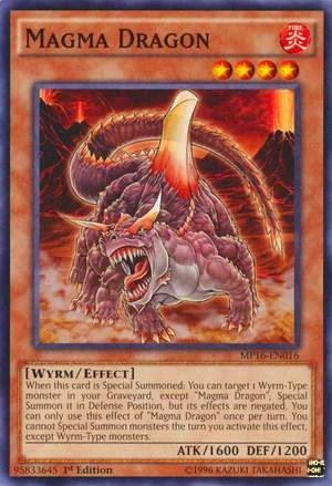 Magma Dragon Yu Gi Oh FANDOM Powered By Wikia