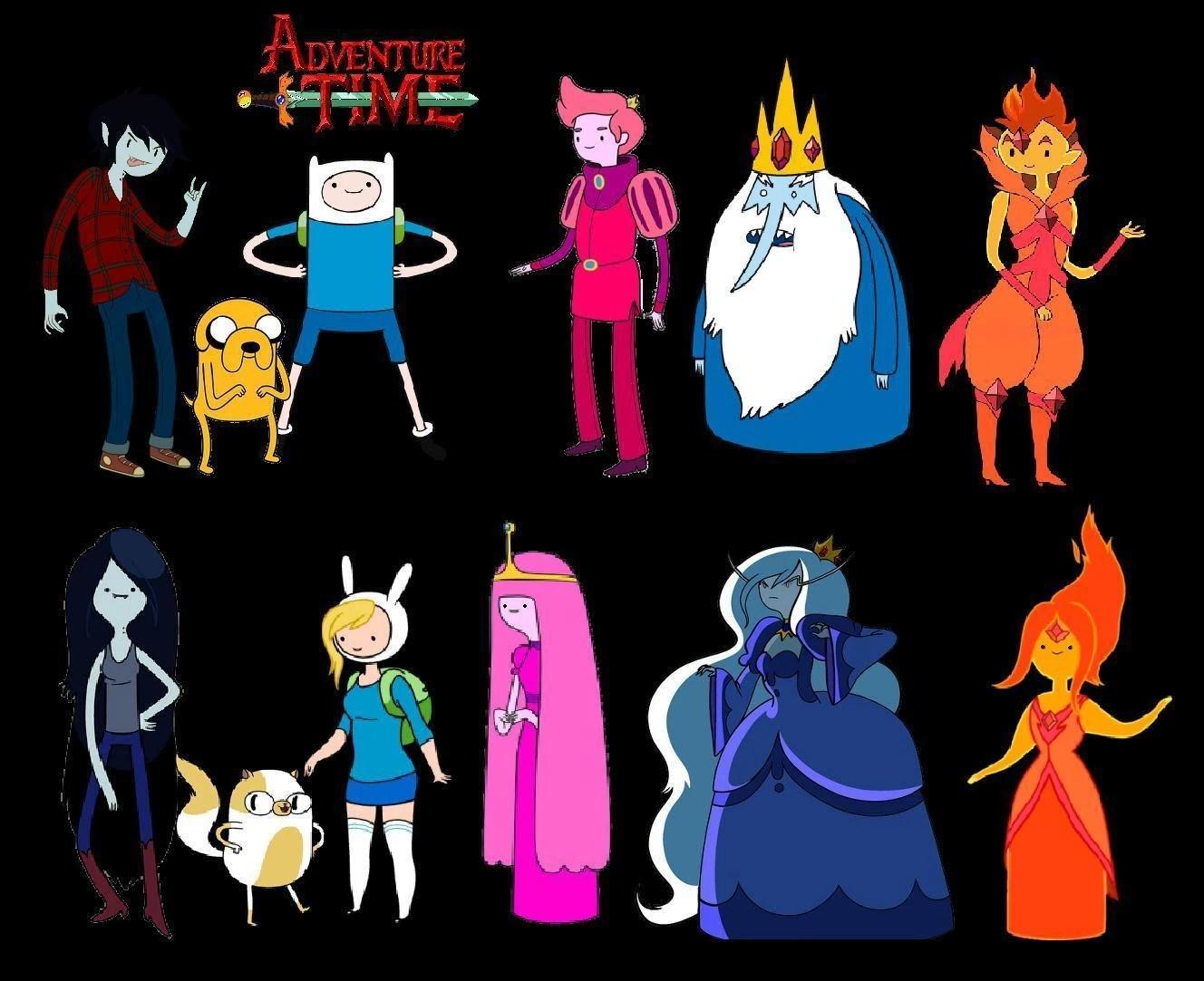 Картинки всех персонажей время приключений фото