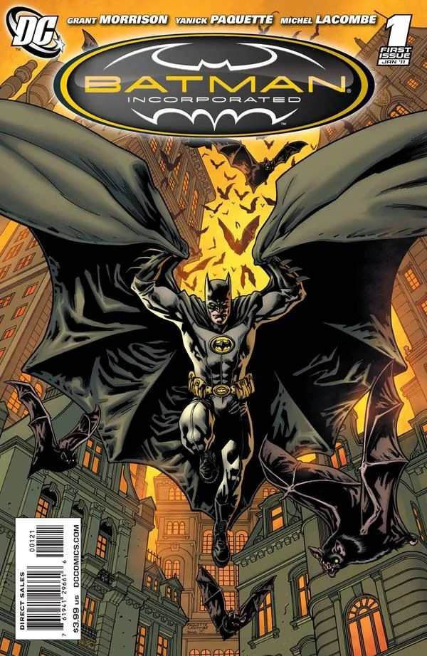 Batman Incorporated Volume 1 Batman Wiki FANDOM