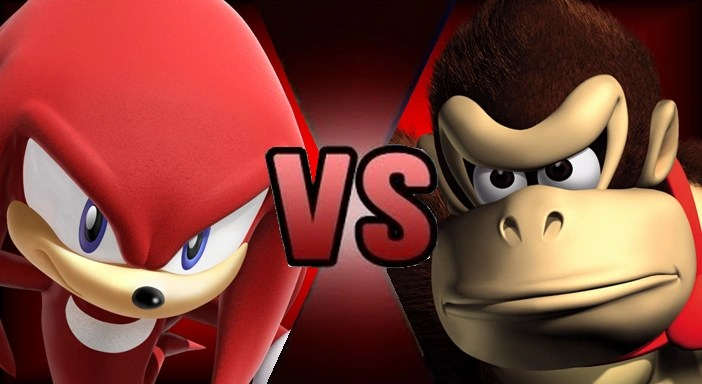 Knuckles the Echidna vs Donkey Kong Death Battle Fanon