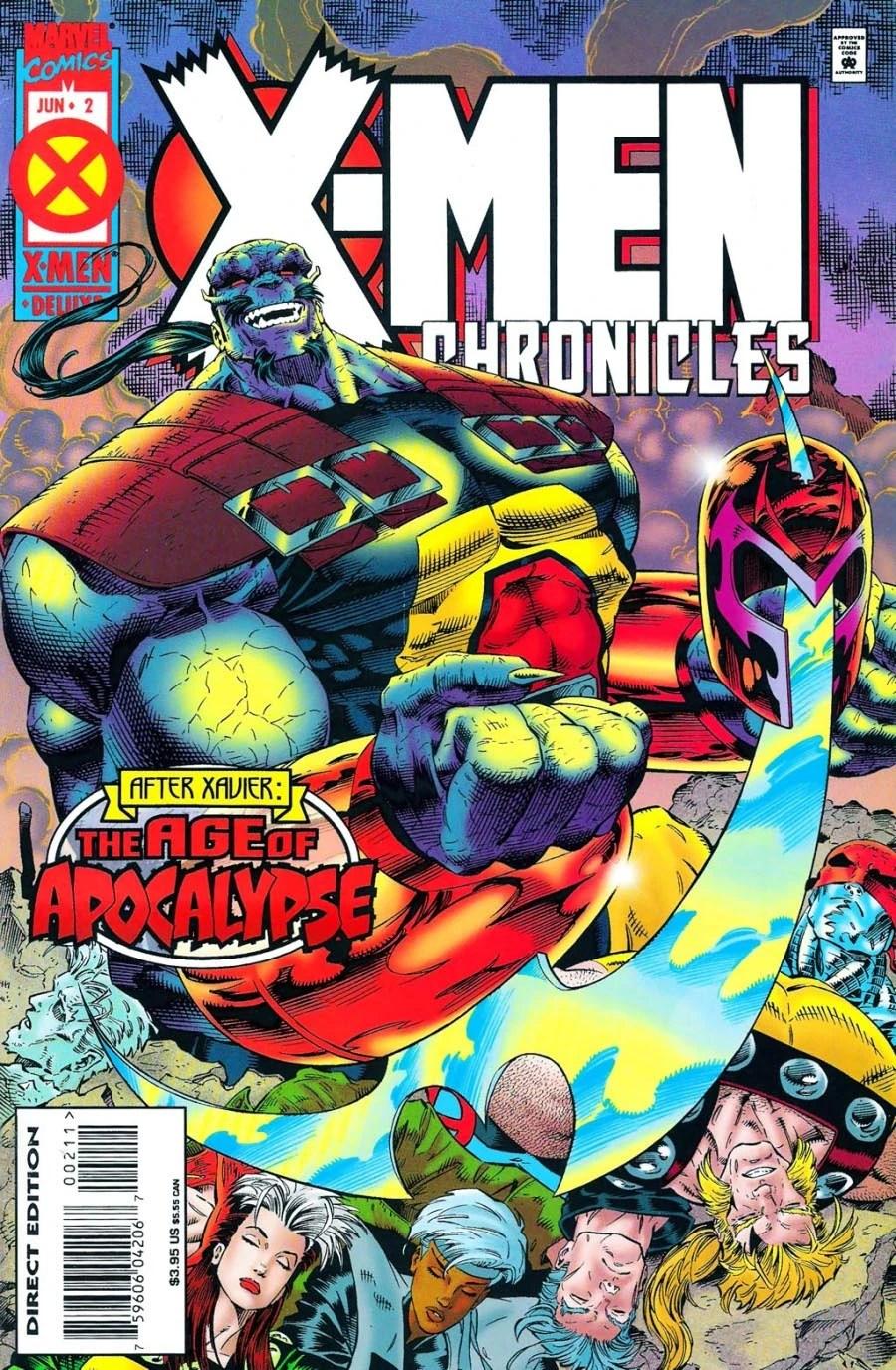 X Men Chronicles Vol 1 2 Marvel Database FANDOM