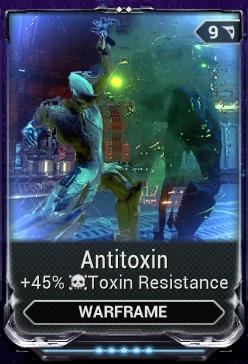Antitoxin Mod WARFRAME Wiki Fandom Powered By Wikia